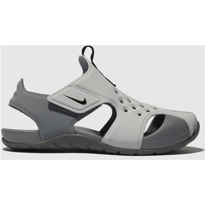Nike Light Grey Sunray Protect 2 Sandals Toddler