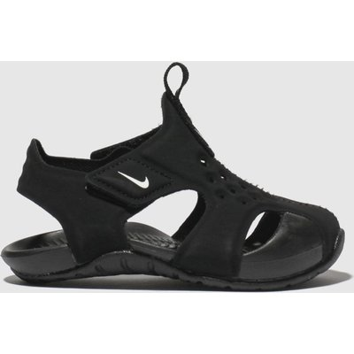 Nike Black Sunray Protect 2 Sandals Toddler