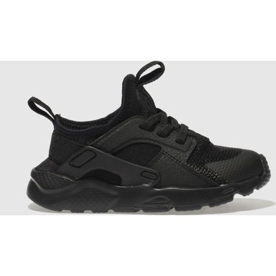 Nike Black Huarache Run Ultra Trainers Toddler