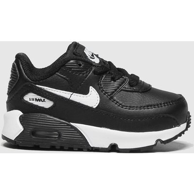 Nike Black & White Air Max 90 Ltr Trainers Toddler