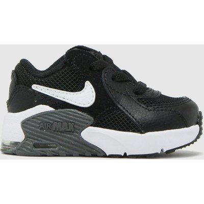 Nike Black & White Air Max Excee Trainers Toddler