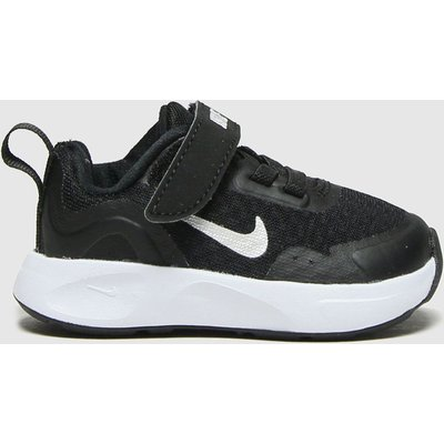 Nike Black & White Wearallday Trainers Toddler