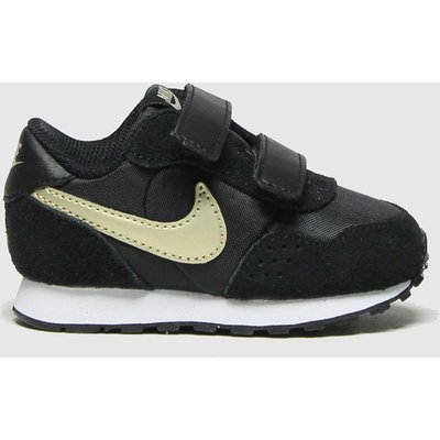 Nike Black & Gold Md Valiant Trainers Toddler