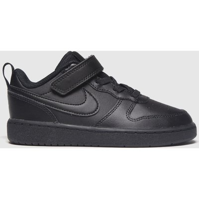 Nike Black Court Borough 2 Trainers Toddler