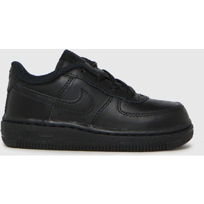 Nike Black Air Force 1 Le Trainers Toddler