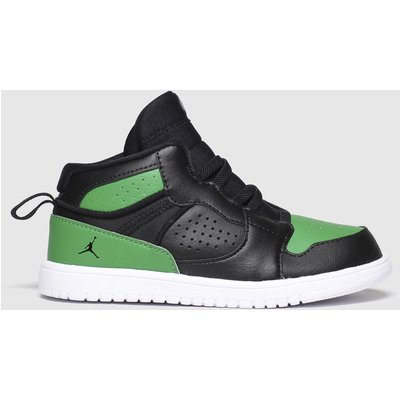 Nike Black & Green Jordan Access Trainers Toddler
