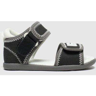 UGG Black & Grey Delta Sandals Toddler
