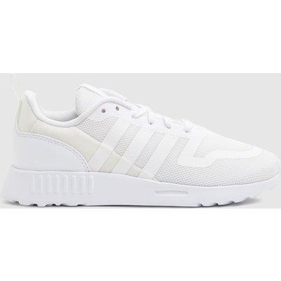 Adidas White Multix Trainers Junior
