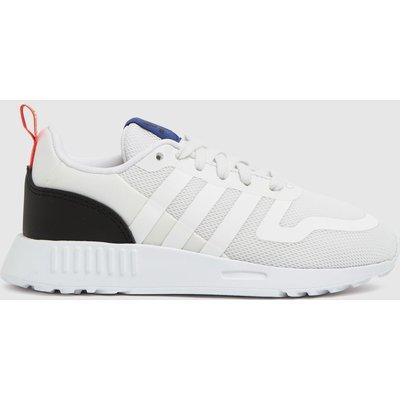 Adidas White & Black Multix Trainers Junior