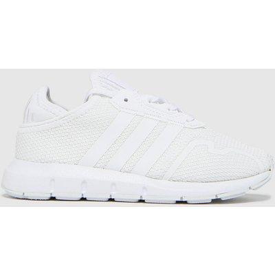 Adidas White Swift Run X Trainers Junior