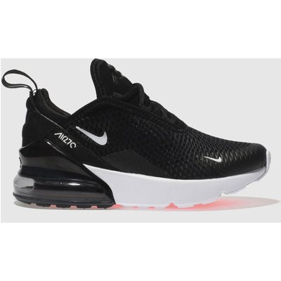 Nike Black & White Air Max 270 Trainers Junior