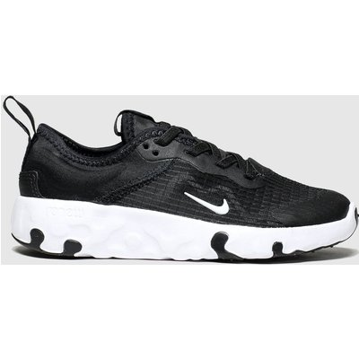 Nike Black & White Renew Lucent Trainers Junior