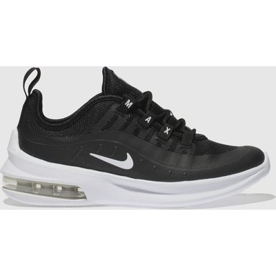 Nike Black & White Air Max Axis Trainers Junior