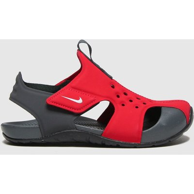 Nike Red Sunray Protect 2 SANDAL Junior