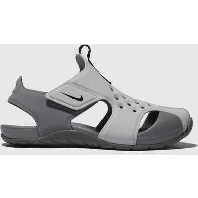 Nike Light Grey Sunray Protect 2 Sandals Junior