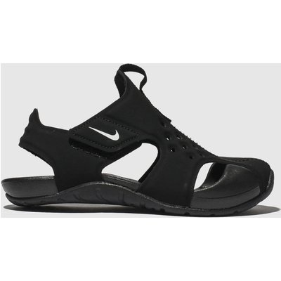 Nike Black Sunray Protect 2 Sandals Junior