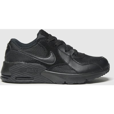 Nike Black Air Max Excee Jnr Trainers Junior