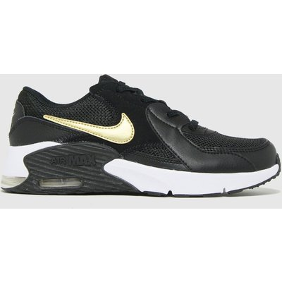 Nike Black & Gold Air Max Excee Trainers Junior