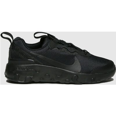 Nike Black Renew Element 55 Trainers Junior
