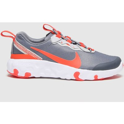 Nike Grey Renew Element 55 Trainers Junior