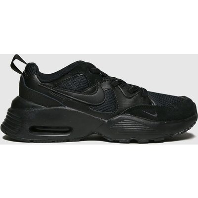 Nike Black Air Max Fusion Trainers Junior