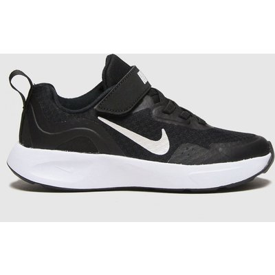 Nike Black & White Wearallday Trainers Junior