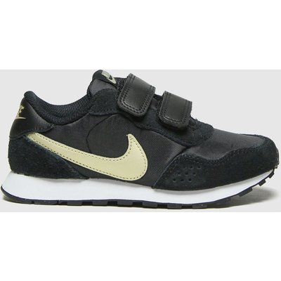 Nike Black & Gold Md Valiant Trainers Junior