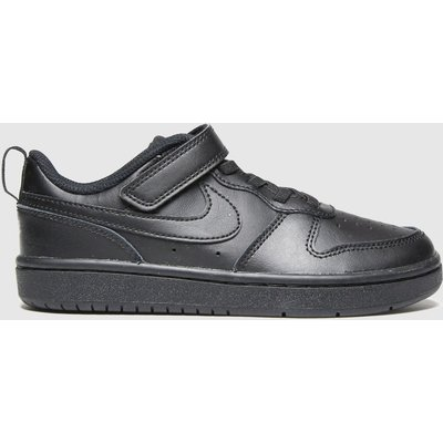 Nike Black Court Borough Low 2 Trainers Junior
