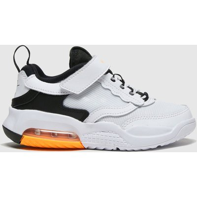 Nike Jordan White & Black Air Max 200 Trainers Junior