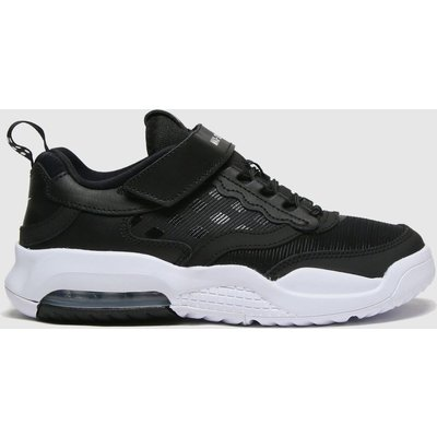 Nike Jordan Black & White Air Max 200 Trainers Junior