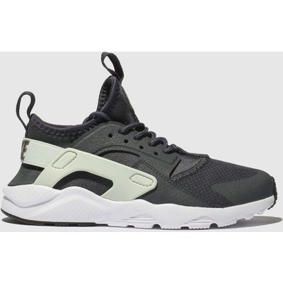 Nike Dark Grey Huarache Run Ultra Trainers Junior