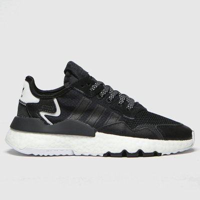 Adidas Black Nite Jogger Trainers Youth