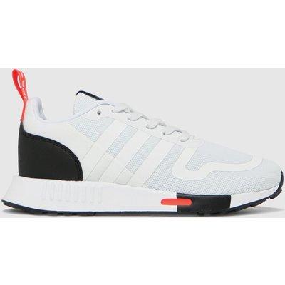 Adidas White & Black Multix Trainers Youth