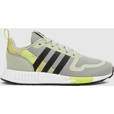 Adidas White & Yellow Multix Trainers Youth