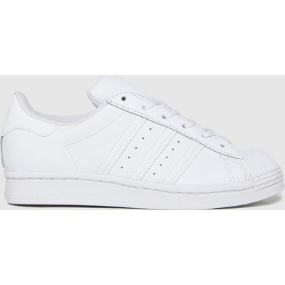 Adidas White Superstar Trainers Youth
