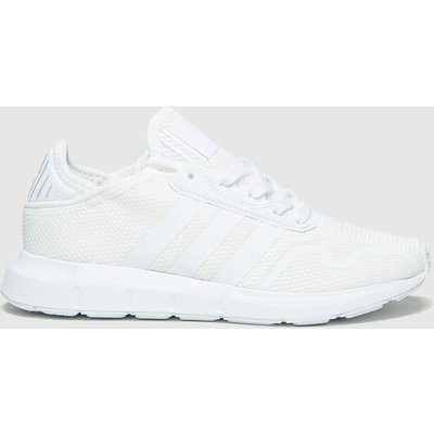 Adidas White Swift Run X Trainers Youth