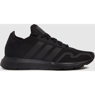 Adidas Black Swift Run X Trainers Youth