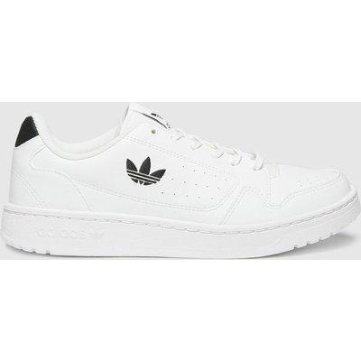 Adidas White & Black Ny 90 Trainers Youth