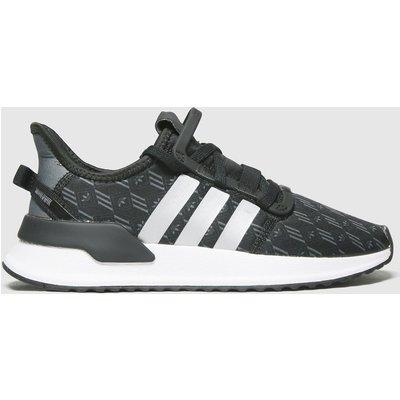 Adidas Black & Silver U_path Run Trainers Youth