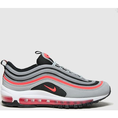 Nike Light Grey Air Max 97 Trainers Youth