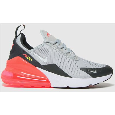Nike Light Grey Air Max 270 Trainers Youth