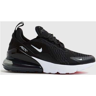Nike Black & White Air Max 270 Trainers Youth