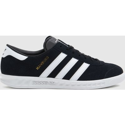 Adidas Black & White Hamburg Trainers Youth