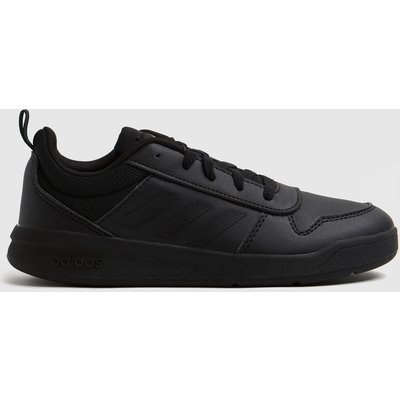 Adidas Black Tensaur Lace Trainers Youth