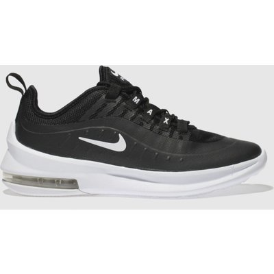 Nike Black & White Air Max Axis Trainers Youth
