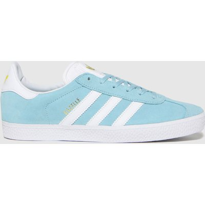 Adidas Pale Blue Gazelle Trainers Youth