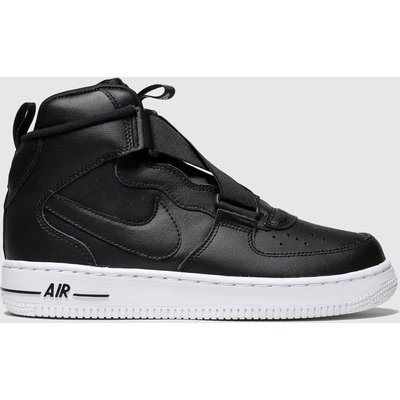 Nike Black Air Force 1 Highness Trainers Youth