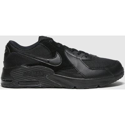 Nike Black Air Max Excee Trainers Youth