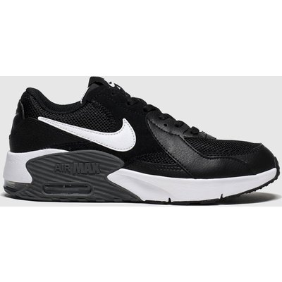 Nike Black & White Air Max Excee Trainers Youth