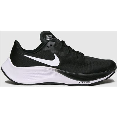 Nike Black & White Air Zoom Pegasus 37 Trainers Youth